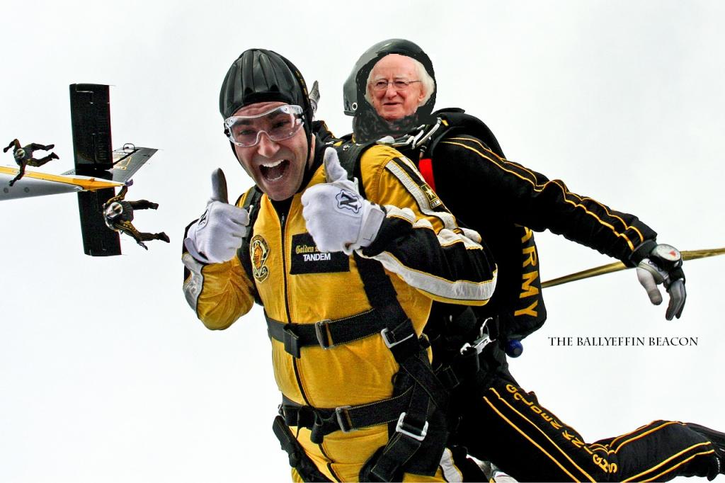 Adventure Ireland Parachuting Clonbullogue Offaly Tandem Jump