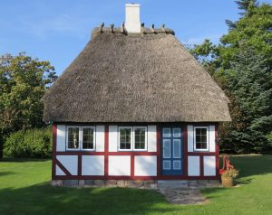 Ballyeffin the beautiful. Thatched Village in the Boglands of Ireland.