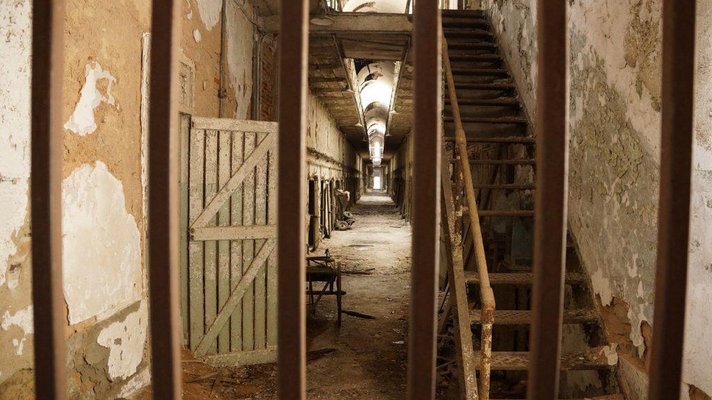 The alleged jail in Ballyeffin on the Boglands of Ireland.