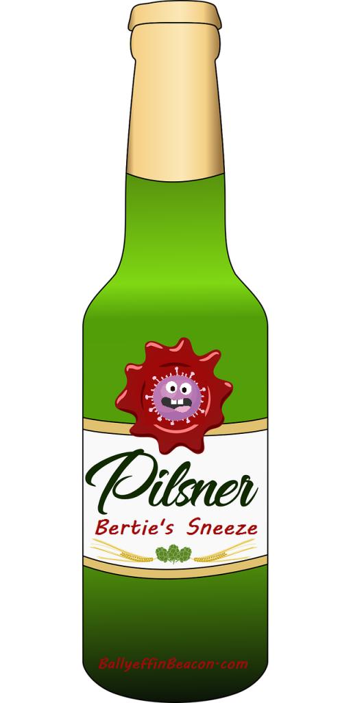 Delicious Pilsner Beer - Ballyeffin Brewery