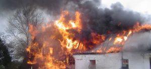House Fire - Vernacular House
